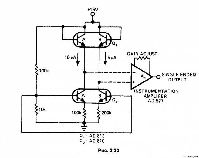 Транзисторный датчик