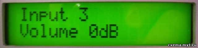 Простейший предусилитель с цифровым управлением на tda7449.