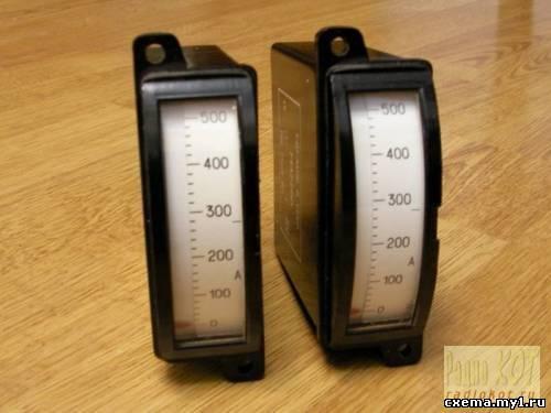 Часы из амперметров