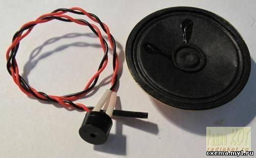 Матричные часы-будильник-термометр