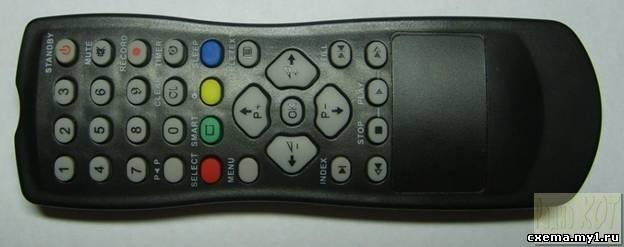 Аудиоконтроллер домашнего кинотеатра.