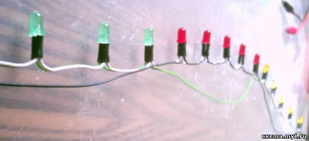 """Автомат световых эффектов 2, """"тюнинг"""": гирлянда."""
