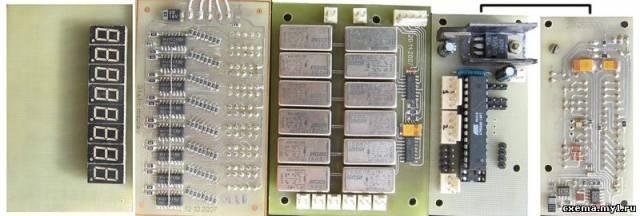 Регулятор громкости с селектором на два входа. CVAVR AVR CodeVision cvavr.ru