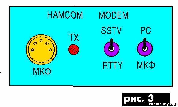 Простои модем для rtty и sstv. CVAVR CAVR AVR CodeVision cavr.ru