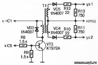 Регулятор тока сварочного аппарата