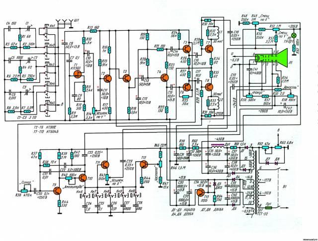 Низкочастотный осциллограф CVAVR CAVR AVR CodeVision cavr.ru