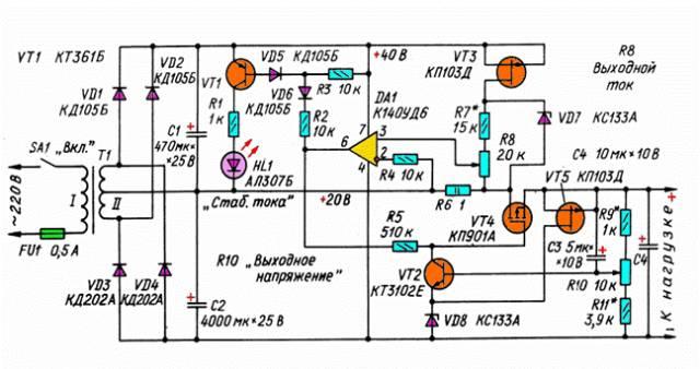 Комбинированный лабораторный блок питания CVAVR AVR CodeVision cvavr.ru