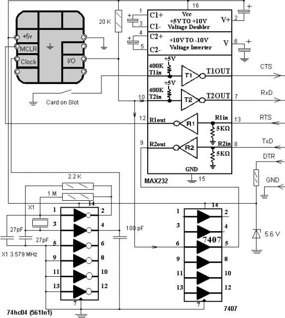 Устройства чтения СИМ карт CVAVR AVR CodeVision cvavr.ru