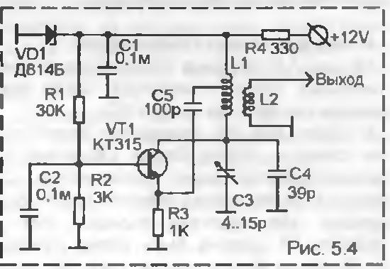 транзисторных генераторов,