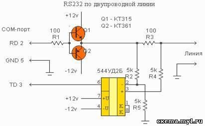Соединение компьтеров через COM порты по двум проводам