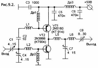 Схемотехника - УКВ аппаратура_передатчики_У.М.(начало)