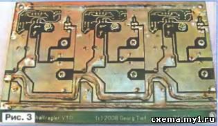 Стабилизатор напряжения аккумуляторной батареи для трансивера