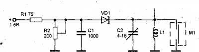 конструкция радиомикрофона при использовании малогабаритных конденсаторных микрофонов