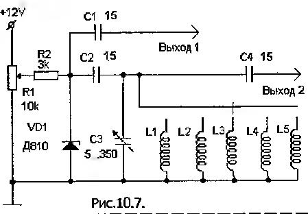 генератора шума на вход
