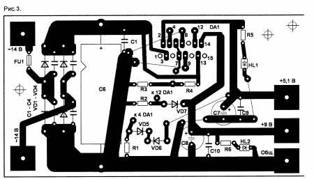 Двухканальный стабилизатор на УМЗЧ микросхеме