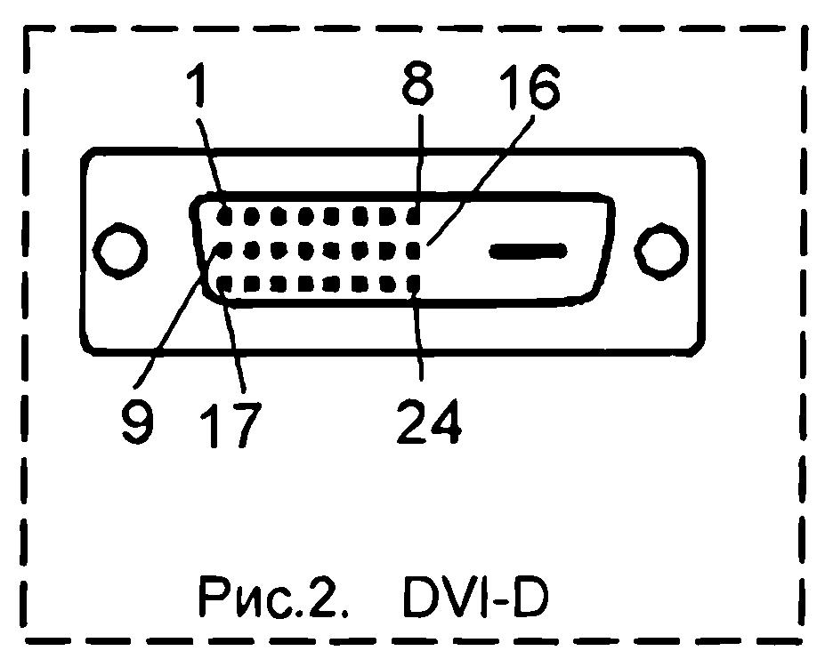 Переходник dvi vga схема