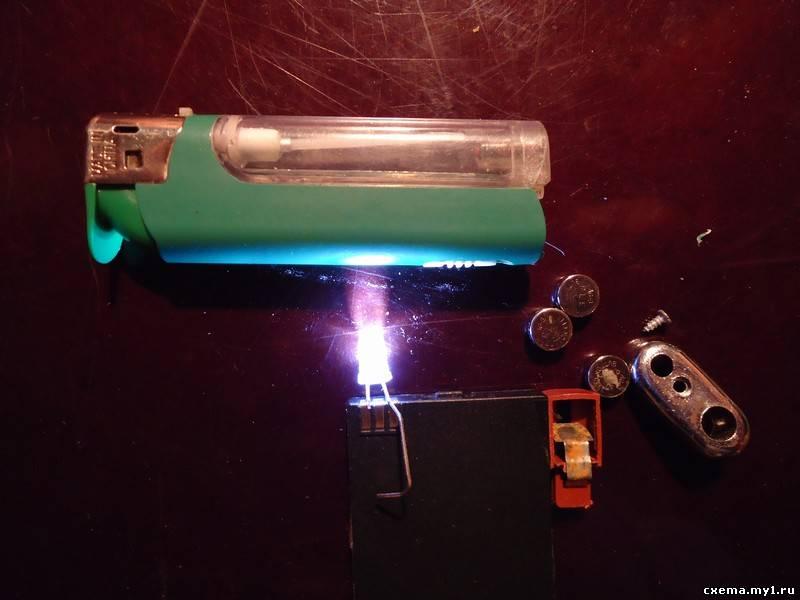 сотовой батареи подключаем