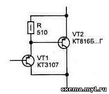 Кодовый замок на тиристорах CVAVR CAVR AVR CodeVision cavr.ru