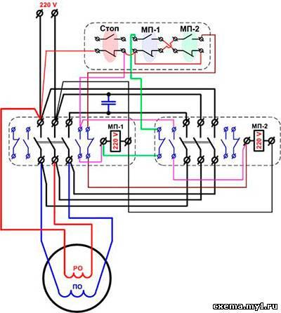 Реверс двигателя стиральной машины