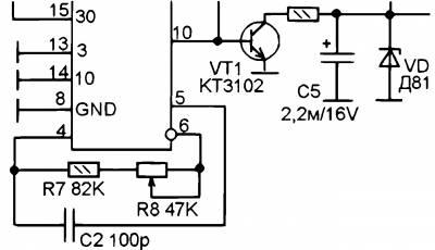 Транзистор IRF840 можно заменить отечественным аналогом типа КП707Б.