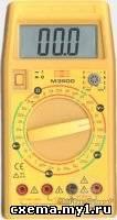 Принципиальная схема мультиметра Mastech M3900
