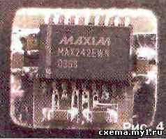 Преобразователь напряжения 5/2x10 В на МАХ242