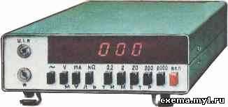 Мультиметр на БИС CVAVR AVR CodeVision cvavr.ru