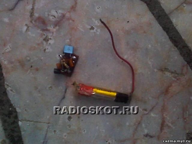 СХЕМА ГЛУШИТЕЛЯ CVAVR AVR CodeVision cvavr.ru