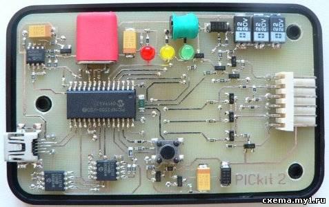 Программатор pickit2 CVAVR CAVR AVR CodeVision cavr.ru