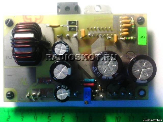В DC-DC преобразователе реализована BCD смешанная технология, устройство использует выходной транзистор DMOS, чтобы...