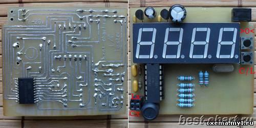 Устройства на микроконтроллерах - Схемы устройств на микроконтроллерах - Каталог статей