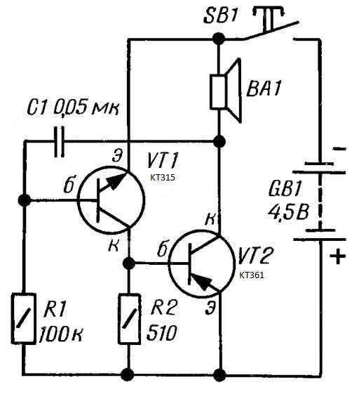 Велозвонок CVAVR AVR