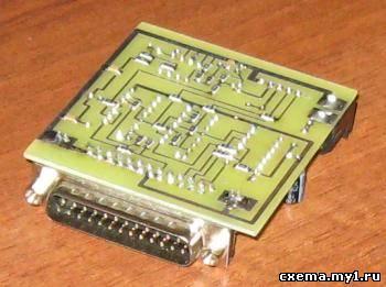 Программатор для микроконтроллеров семейства PIC для LPT-порта