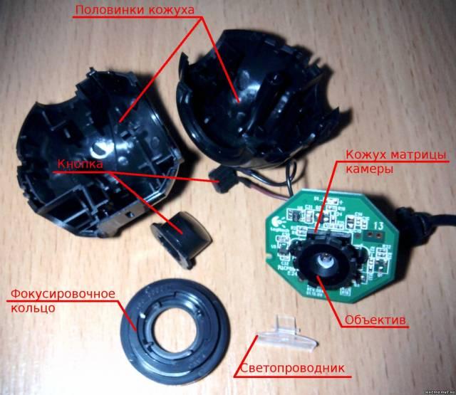 Создание инфракрасной камеры ночного видения из веб-камеры