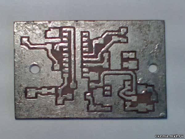 Металлоискатель на микроконтроллере attiny2313-20