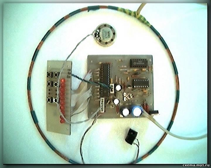 Металлодетектор своими руками из радио