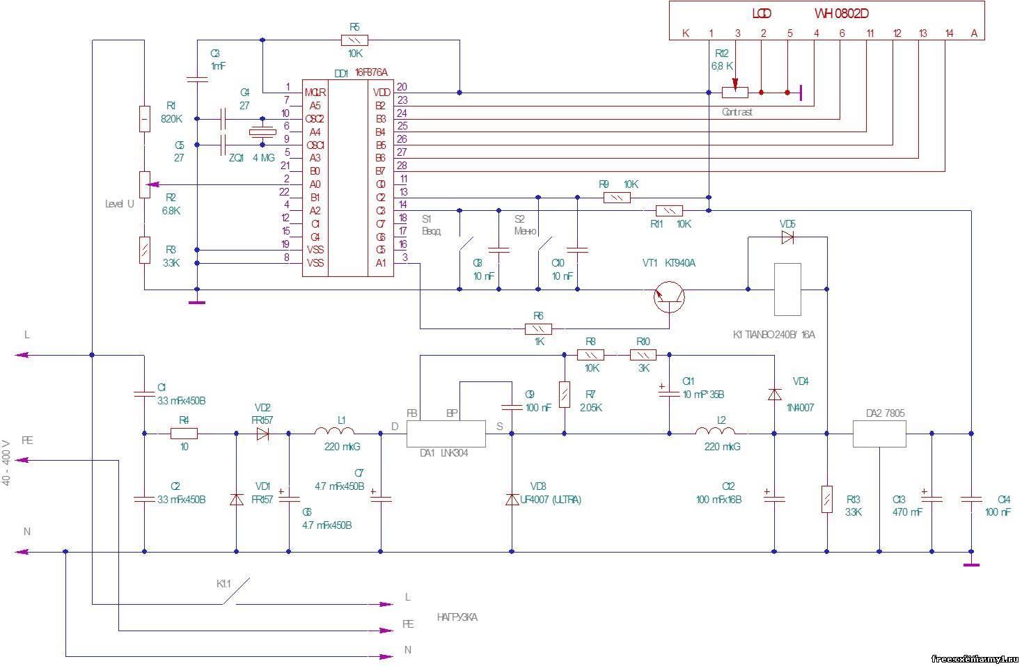 Защита от перенапряжения в сети 220 и 380 Вольт - Сам электрик 95