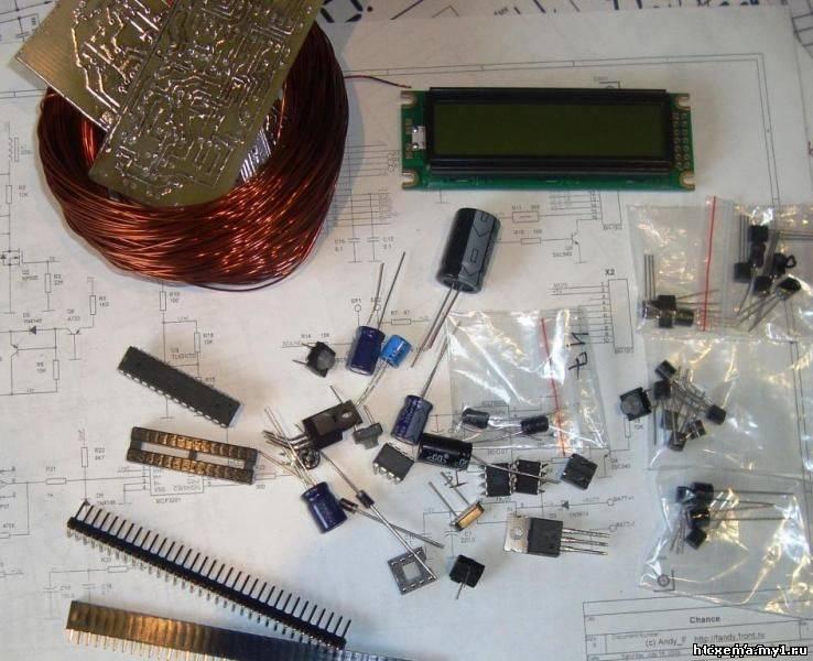 3v3 радиодетали конструктор металлоискателя пират купить