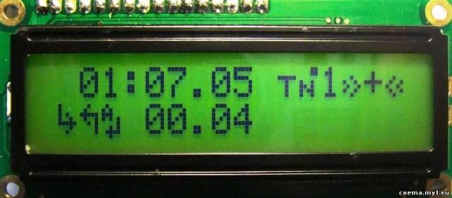 Многофункциональный циклический таймер CVAVR CAVR AVR CodeVision cavr.ru