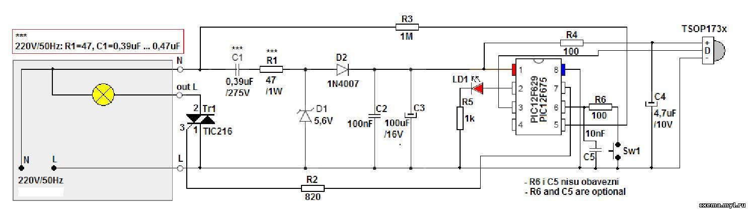 После подключения к DIMMER вам необходимо запрограммировать кнопки пульта дистанционного управления.