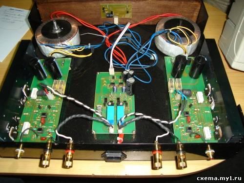 Усилитель с hi-end качеством звучания