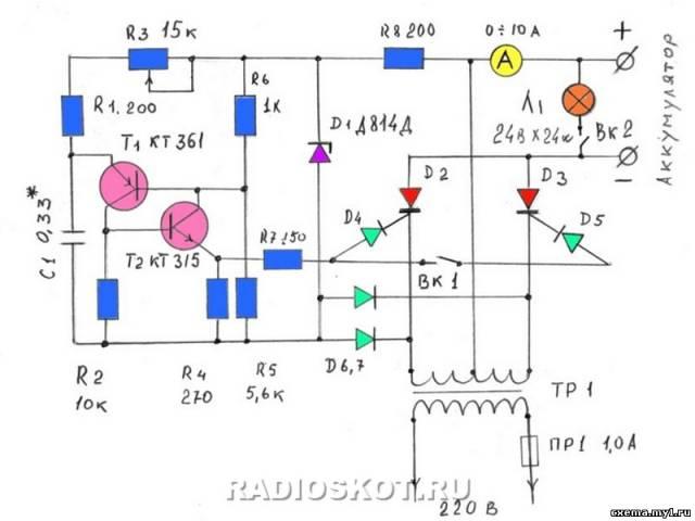импульсные зарядные устройства