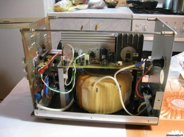 Мощный лабораторный блок питания с повышенным КПД и защитой на МК