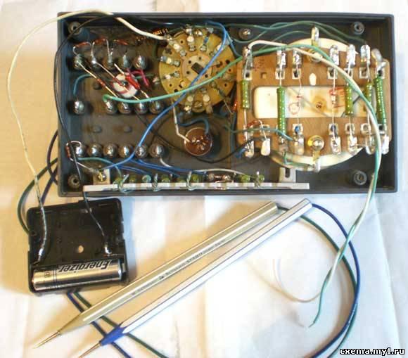 Измерительный прибор (тестер) Ц20, схема, ремонт.