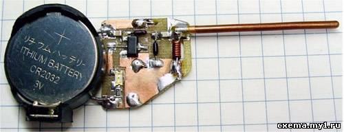 Детектор излучения сотового телефона 2