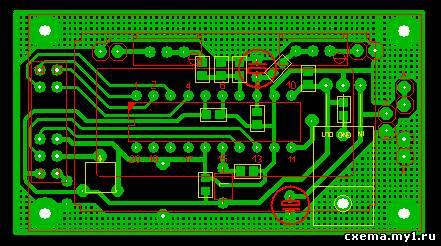 Вольтамперметр на микроконтроллере ATtiny26