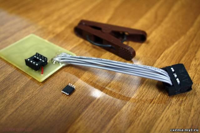 Переходник для программирования микроконтроллеров AVR 6 в 1