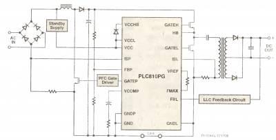 Контроллер с интегрированным полумостовым драйвером