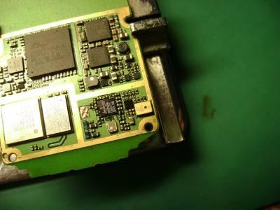 Пример замены цифрового микрофона на мобильном телефоне Nokia 5310