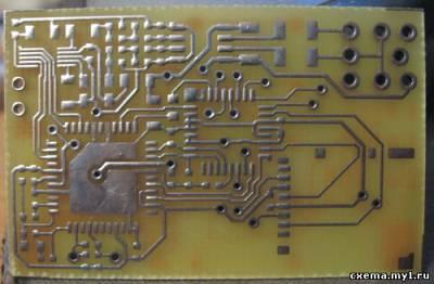 Самодельный mp3 плейер на atmega168+sta013 CVAVR AVR CodeVision cvavr.ru